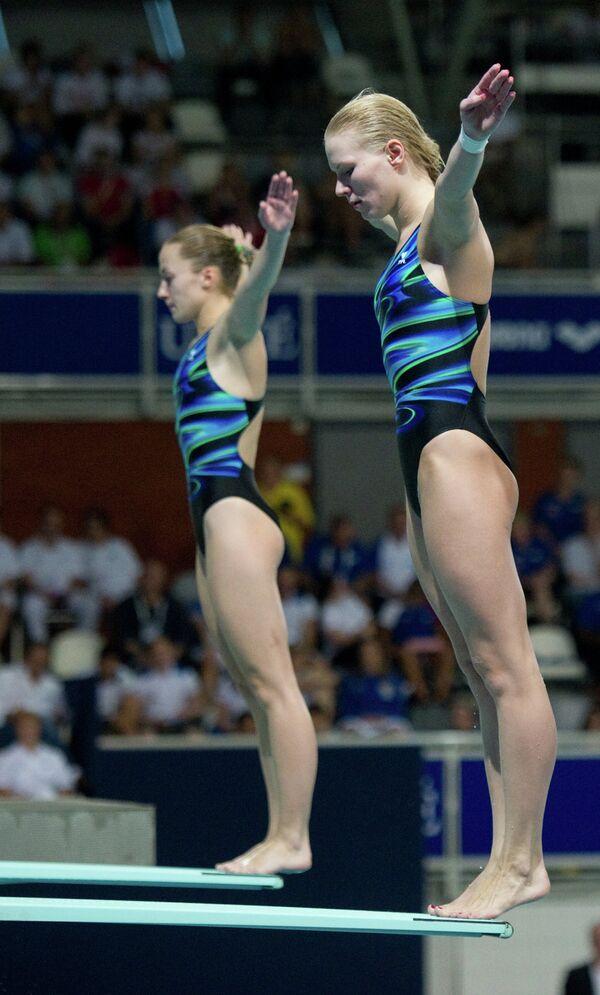 Анастасия Позднякова и Светлана Филиппова