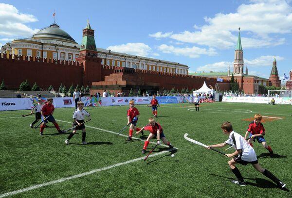Участники VIII Военно-спортивного форума Готов к труду и обороне России