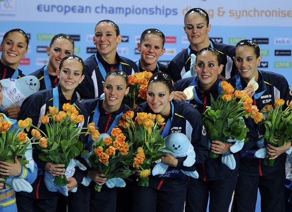 Синхронное плавание. Чемпионат Европы. Пятый день