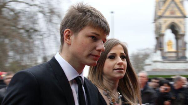 Андрей Аршавин с супругой Юлией