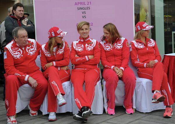 Российские теннисистки