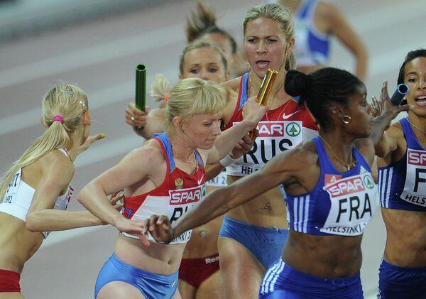 Российские спортсменки Лилия Молгачева и Татьяна Вешкурова