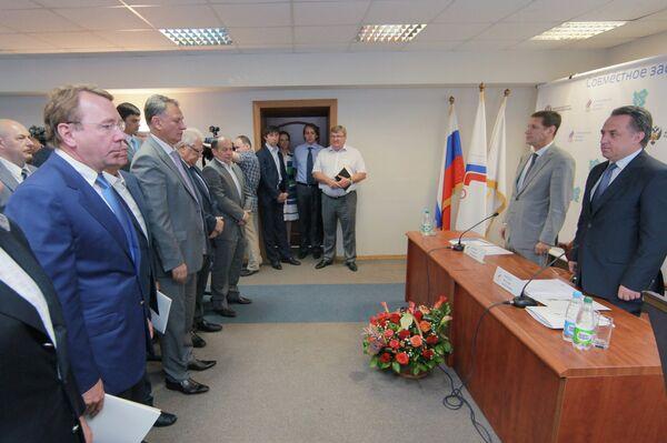 Совместное заседание Исполкома ОКР и Коллегии Минспорта РФ
