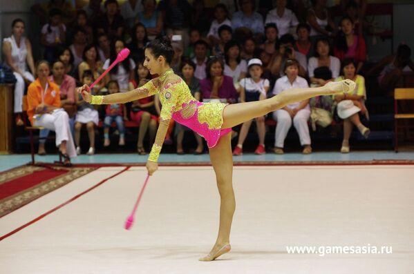 Соревнования по художественной гимнастике на V МСИ Дети Азии