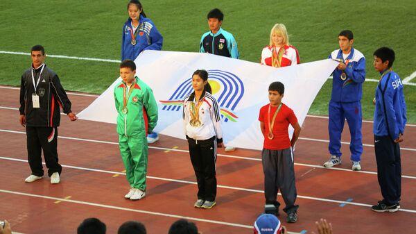 Торжественная церемония закрытия V Международных спортивных игр Дети Азии