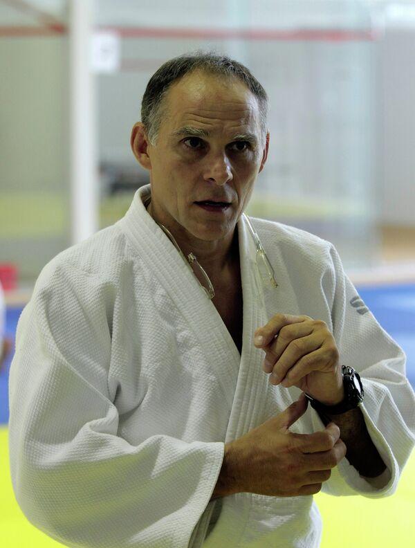 Тренировка олимпийской сборной России по дзюдо