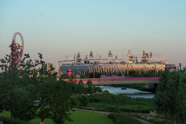 Вид на главный олимпийский стадион