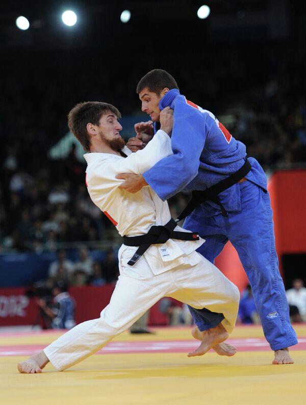 Муса Могушков и Тарлан Каримов (слева направо)