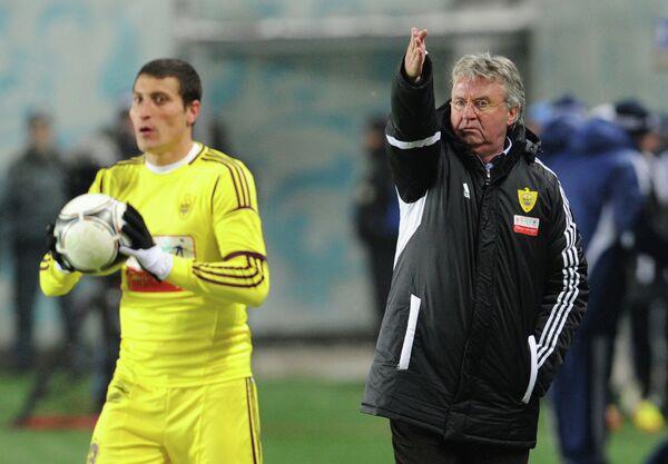 Расим Тагирбеков и Гус Хиддинк