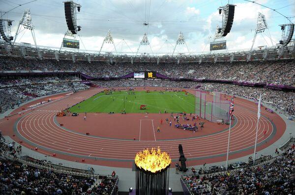 Вид на Олимпийский стадион