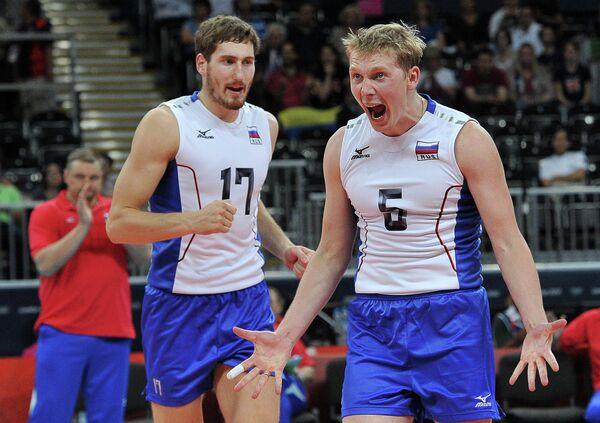Максим Михайлов и Сергей Гранкин (слева направо)