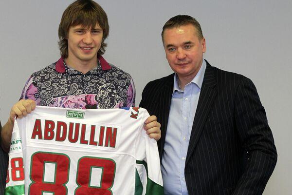 Денис Абдуллин и Валерий Белов (слева направо)