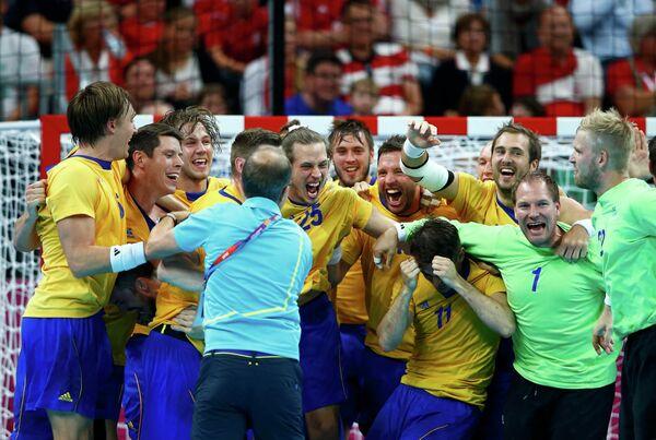 Мужская сборная Швеции по гандболу