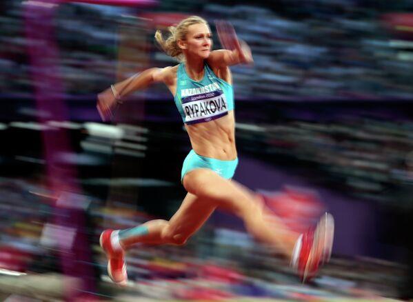 Казахстанская легкоатлетка Ольга Рыпакова