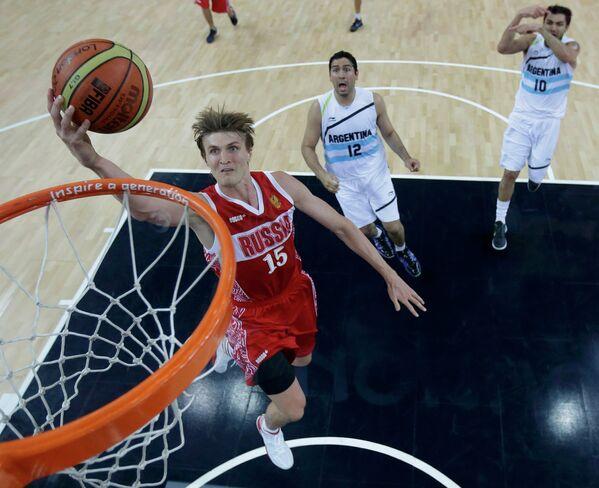 Баскетболист сборной России Андрей Кириленко