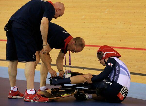Британский велогонщик Филип Хиндес