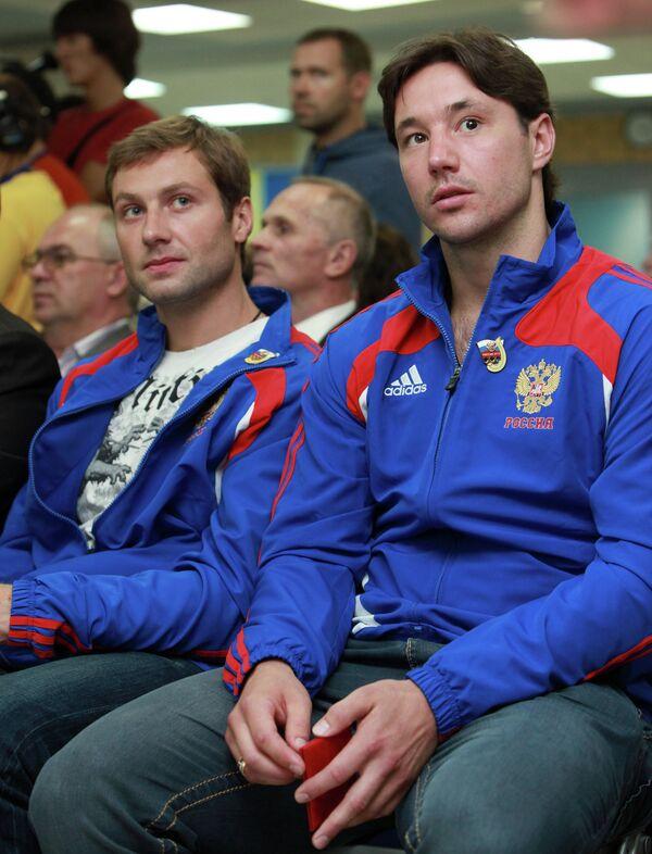 Алексей Морозов и Илья Ковальчук (слева направо)