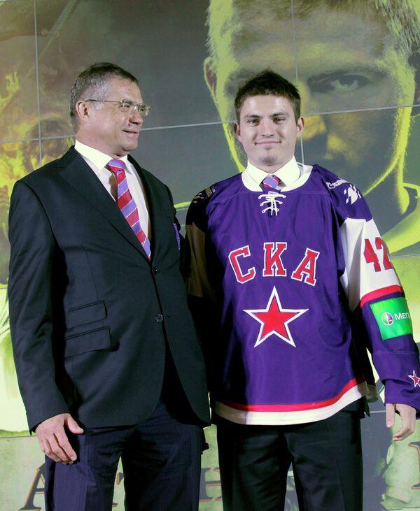 Александр Медведев и Антон Королев (слева направо)