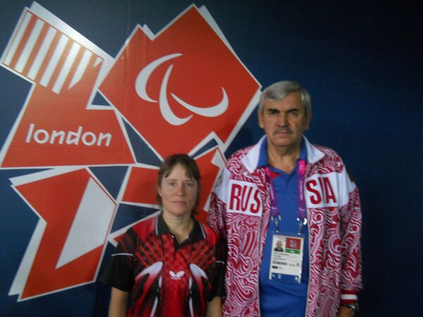 Раиса Чебаника и Валерий Вишняков