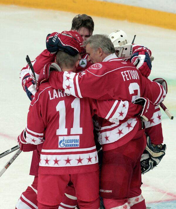 Ветераны хоккея СССР