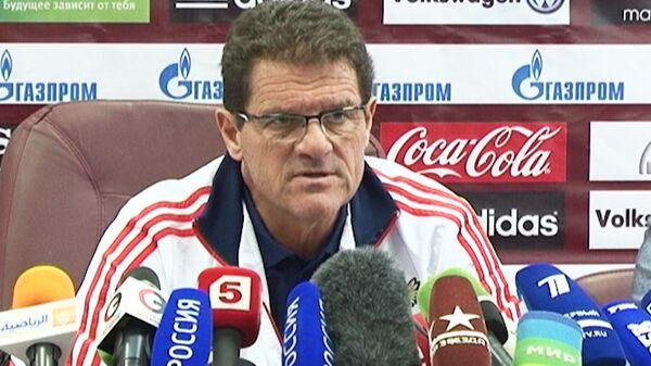 Капелло объяснил, почему не включил в сборную Аршавина и Погребняка