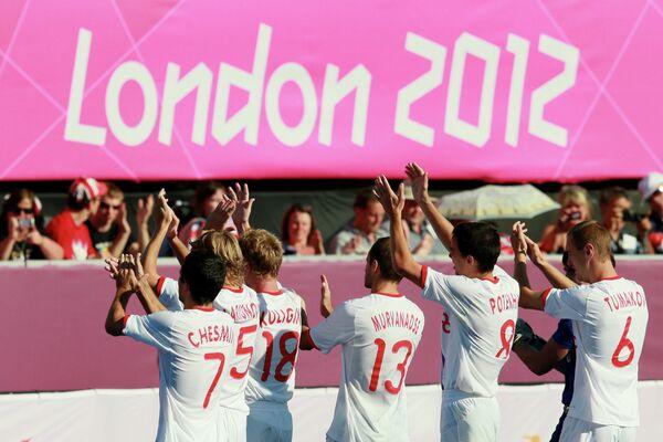Футболисты сборной России на Паралимпиаде - 2012