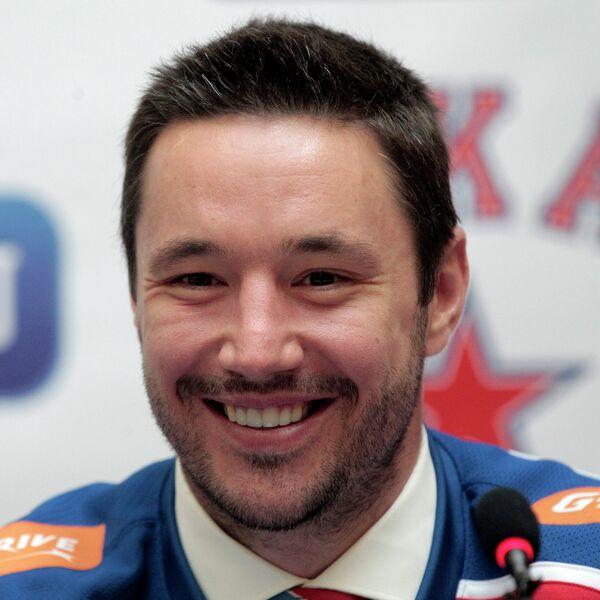Презентация нового игрока СКА Ильи Ковальчука