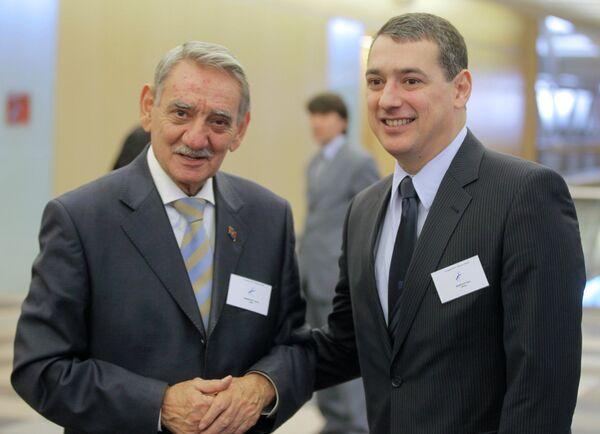 Яшар Мамедов и Ильгар Мамедов (слева направо)
