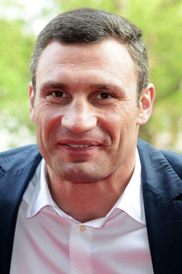 Виталий Кличко на премьере фильма Klitschko в Лондоне, 21 мая 2012.