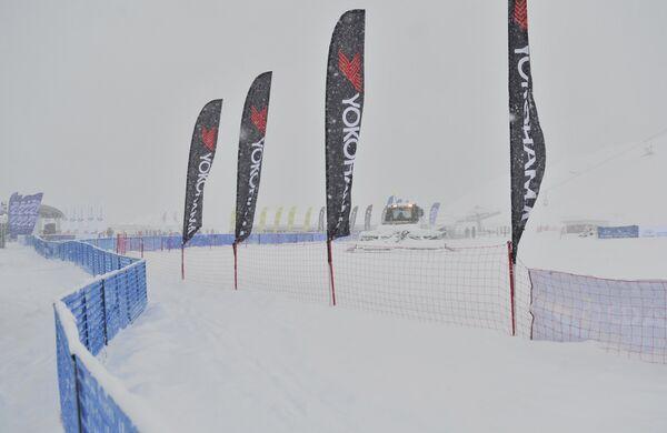 Соревнования по ски-кроссу