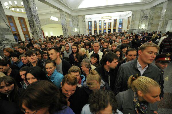 Час-пик в московском метро