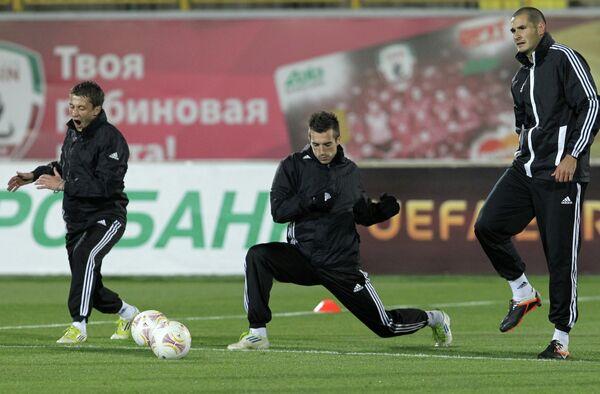 Футболисты Партизана