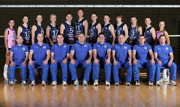 Игроки волейбольного клуба Динамо-Казань