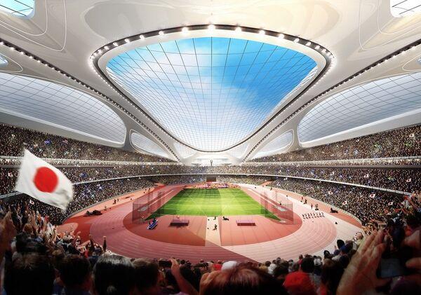 Проект национального стадиона Токио Kasumigaoka
