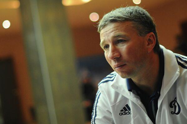 Главный тренер ФК Динамо Дан Петреску на базе клуба в Новогорске