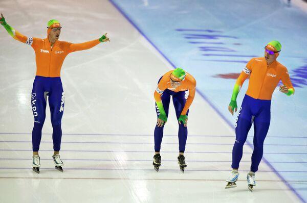 Конькобежцы сборной Нидерландов