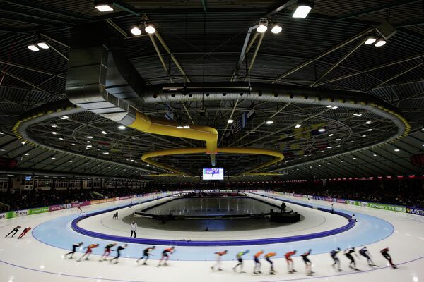 Первый этап Кубка мира по конькобежному спорту
