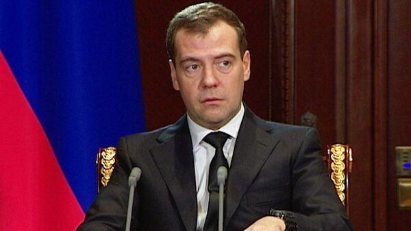 Это не инцидент, а преступление – Медведев о ЧП на футбольном матче