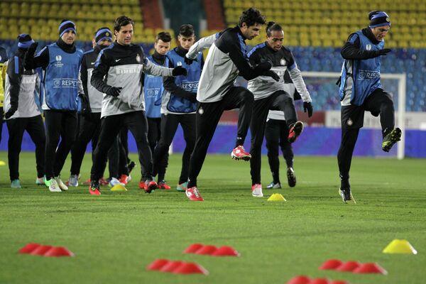 Тренировка ФК Интер