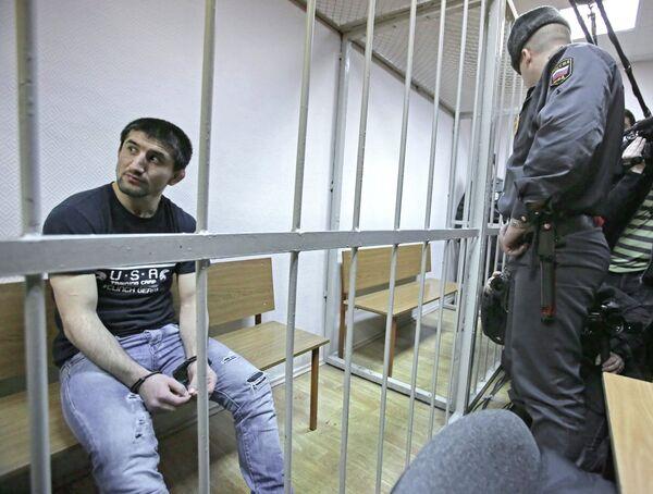 Спортсмен Расул Мирзаев в Замоскворецком суде Москвы