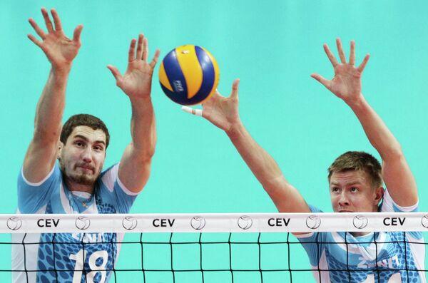 Максим Михайлов и Александр Абросимов (слева направо)