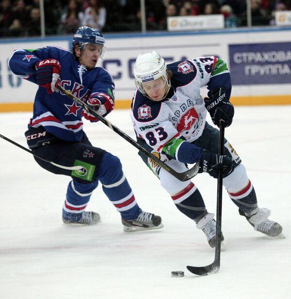 Мэтт Эллисон (справа) и Игорь Макаров