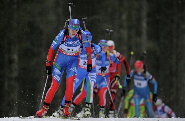 Россиянка Ольга Вилухина (на первом плане)