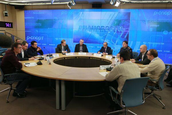 Круглый стол представителей клубов РФПЛ