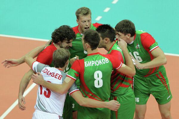 Игроки ВК Локомотив (Новосибирск)