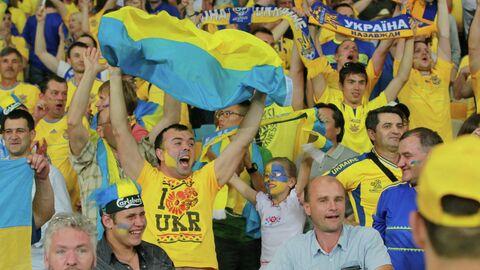 Футбол. ЕВРО - 2012. Матч сборных Украины и Швеции