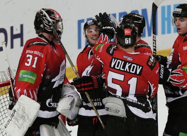 Хоккеисты Авангарда