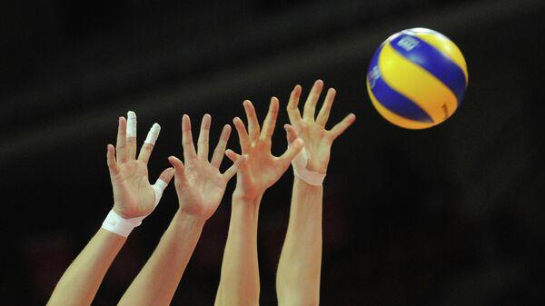 Волейбол. Квалификация ОИ-2012. Матч Россия - Польша