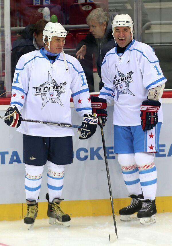 Александр Медведев и Александр Кожевников