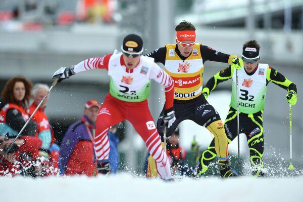 Лыжное двоеборье. VIII этап Кубка мира. Командные соревнования